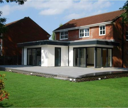 Award winning full house refurbishment including large extension to rear of detached house in Scunthorpe